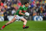 3 August 2019; Jason Doherty of Mayo during the GAA Football All-Ireland Senior Championship Quarter-Final Group 1 Phase 3 match between Mayo and Donegal at Elvery's MacHale Park in Castlebar, Mayo. Photo by Brendan Moran/Sportsfile