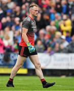 3 August 2019; Rob Hennelly of Mayo during the GAA Football All-Ireland Senior Championship Quarter-Final Group 1 Phase 3 match between Mayo and Donegal at Elvery's MacHale Park in Castlebar, Mayo. Photo by Brendan Moran/Sportsfile