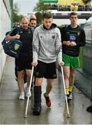 3 August 2019; Eoghan Ban Gallagher of Donegal arrives prior to the GAA Football All-Ireland Senior Championship Quarter-Final Group 1 Phase 3 match between Mayo and Donegal at Elvery's MacHale Park in Castlebar, Mayo. Photo by Brendan Moran/Sportsfile