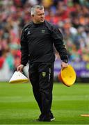 3 August 2019; Donegal coach Stephen Rochford prior to the GAA Football All-Ireland Senior Championship Quarter-Final Group 1 Phase 3 match between Mayo and Donegal at Elvery's MacHale Park in Castlebar, Mayo. Photo by Brendan Moran/Sportsfile