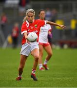 3 August 2019; Orla Finn of Cork during the TG4 All-Ireland Ladies Football Senior Championship Quarter-Final match between Cork and Tyrone at Duggan Park in Ballinasloe, Galway. Photo by Ray McManus/Sportsfile