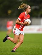 3 August 2019; Maire O'Callaghan of Cork during the TG4 All-Ireland Ladies Football Senior Championship Quarter-Final match between Cork and Tyrone at Duggan Park in Ballinasloe, Galway. Photo by Ray McManus/Sportsfile