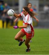 3 August 2019; Chloe McCaffrey of Tyrone during the TG4 All-Ireland Ladies Football Senior Championship Quarter-Final match between Cork and Tyrone at Duggan Park in Ballinasloe, Galway. Photo by Ray McManus/Sportsfile