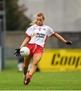 3 August 2019; Emma Brennan  of Tyrone during the TG4 All-Ireland Ladies Football Senior Championship Quarter-Final match between Cork and Tyrone at Duggan Park in Ballinasloe, Galway. Photo by Ray McManus/Sportsfile