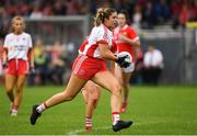 3 August 2019; Aoibhinn McHugh of Tyrone during the TG4 All-Ireland Ladies Football Senior Championship Quarter-Final match between Cork and Tyrone at Duggan Park in Ballinasloe, Galway. Photo by Ray McManus/Sportsfile