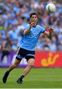 4 August 2019; Rory O'Carroll of Dublin during the GAA Football All-Ireland Senior Championship Quarter-Final Group 2 Phase 3 match between Tyrone and Dublin at Healy Park in Omagh, Tyrone. Photo by Brendan Moran/Sportsfile