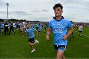 4 August 2019; Eric Lowndes of Dublin leaves the pitch after the GAA Football All-Ireland Senior Championship Quarter-Final Group 2 Phase 3 match between Tyrone and Dublin at Healy Park in Omagh, Tyrone. Photo by Brendan Moran/Sportsfile