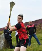 3 August 2019; Eventual senior hurling winner Cillian Kiely during the 2019 M. Donnelly GAA All-Ireland Poc Fada Finals at Annaverna Mountain in the Cooley Peninsula, Ravensdale, Co Louth. Photo by Piaras Ó Mídheach/Sportsfile