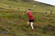 3 August 2019; Cathal Kiely of Offaly during the 2019 M. Donnelly GAA All-Ireland Poc Fada Finals at Annaverna Mountain in the Cooley Peninsula, Ravensdale, Co Louth. Photo by Piaras Ó Mídheach/Sportsfile
