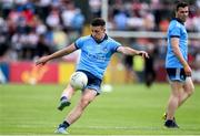 4 August 2019; Cormac Costello of Dublin during the GAA Football All-Ireland Senior Championship Quarter-Final Group 2 Phase 3 match between Tyrone and Dublin at Healy Park in Omagh, Tyrone. Photo by Oliver McVeigh/Sportsfile