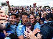 4 August 2019; Bernard Brogan of Dublin following the GAA Football All-Ireland Senior Championship Quarter-Final Group 2 Phase 3 match between Tyrone and Dublin at Healy Park in Omagh, Tyrone. Photo by Oliver McVeigh/Sportsfile