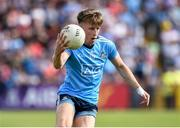 4 August 2019; Seán Bugler of Dublin during the GAA Football All-Ireland Senior Championship Quarter-Final Group 2 Phase 3 match between Tyrone and Dublin at Healy Park in Omagh, Tyrone. Photo by Oliver McVeigh/Sportsfile