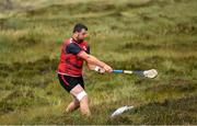 3 August 2019; Gareth Johnson of Down during the 2019 M. Donnelly GAA All-Ireland Poc Fada Finals at Annaverna Mountain in the Cooley Peninsula, Ravensdale, Co Louth. Photo by Piaras Ó Mídheach/Sportsfile