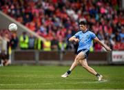 3 August 2019; Ciarán Archer of Dublin during the EirGrid GAA Football All-Ireland U20 Championship Final match between Cork and Dublin at O'Moore Park in Portlaoise, Laois. Photo by Harry Murphy/Sportsfile