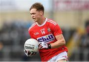 3 August 2019; Catha; O'Mahony of Cork during the EirGrid GAA Football All-Ireland U20 Championship Final match between Cork and Dublin at O'Moore Park in Portlaoise, Laois. Photo by Harry Murphy/Sportsfile