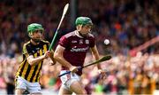9 June 2019; Brian Concannon of Galway in action against Tommy Walsh of Kilkenny during the Leinster GAA Hurling Senior Championship Round 4 match between Kilkenny and Galway at Nowlan Park in Kilkenny. Photo by Ray McManus/Sportsfile