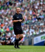 27 July 2019; Referee Alan Kelly during the GAA Hurling All-Ireland Senior Championship Semi-Final match between Kilkenny and Limerick at Croke Park in Dublin. Photo by Ray McManus/Sportsfile
