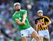 27 July 2019; Aaron Gillane of Limerick during the GAA Hurling All-Ireland Senior Championship Semi-Final match between Kilkenny and Limerick at Croke Park in Dublin. Photo by Ray McManus/Sportsfile