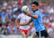4 August 2019; Eric Lowndes of Dublin during the GAA Football All-Ireland Senior Championship Quarter-Final Group 2 Phase 3 match between Tyrone and Dublin at Healy Park in Omagh, Tyrone. Photo by Brendan Moran/Sportsfile