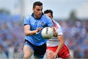 4 August 2019; Paddy Andrews of Dublin during the GAA Football All-Ireland Senior Championship Quarter-Final Group 2 Phase 3 match between Tyrone and Dublin at Healy Park in Omagh, Tyrone. Photo by Brendan Moran/Sportsfile