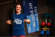 6 August 2019; Ambassador and boxer Kellie Harrington is photographed at Ballybough Community Sports Centre for the launch of the #ThisIsMyDublin campaign promoting Dublin City Sportsfest 2019. A week-long celebration of sport & physical activity from 23-29 of September. Everyone is encouraged participate regardless of age, ability or background. For more information visit http://www.dublincity.ie/sportsfest. Photo by Stephen McCarthy/Sportsfile