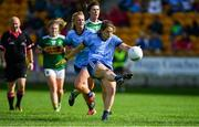 5 August 2019; Noëlle Healy of Dublin during the TG4 All-Ireland Ladies Football Senior Championship Quarter-Final match between Dublin and Kerry at Bord na Móna O'Connor Park in Tullamore, Offaly. Photo by Piaras Ó Mídheach/Sportsfile