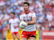4 August 2019; Conan Grugan of Tyrone during the GAA Football All-Ireland Senior Championship Quarter-Final Group 2 Phase 3 match between Tyrone and Dublin at Healy Park in Omagh, Tyrone. Photo by Brendan Moran/Sportsfile
