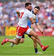 4 August 2019; Kyle Coney of Tyrone during the GAA Football All-Ireland Senior Championship Quarter-Final Group 2 Phase 3 match between Tyrone and Dublin at Healy Park in Omagh, Tyrone. Photo by Brendan Moran/Sportsfile