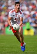 4 August 2019; David Mulgrew of Tyrone during the GAA Football All-Ireland Senior Championship Quarter-Final Group 2 Phase 3 match between Tyrone and Dublin at Healy Park in Omagh, Tyrone. Photo by Brendan Moran/Sportsfile