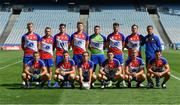 2 August 2019; The New York Freedom squad before the Renault GAA World Games Mens Football Native Cup Final against New York Liberty during the Renault GAA World Games 2019 Day 5 - Cup Finals at Croke Park in Dublin. Photo by Piaras Ó Mídheach/Sportsfile