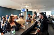 9 August 2019; A general view of the Derby Bar in the Aga Kahn Stand at The Curragh Racecourse in Kildare. Photo by Sam Barnes/Sportsfile