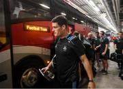 10 August 2019; Diarmuid Connolly of Dublin arrives prior to the GAA Football All-Ireland Senior Championship Semi-Final match between Dublin and Mayo at Croke Park in Dublin. Photo by Stephen McCarthy/Sportsfile