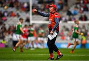 10 August 2019; Cork manager Bobby O'Dwyer during the Electric Ireland GAA Football All-Ireland Minor Championship Semi-Final match between Cork and Mayo at Croke Park in Dublin. Photo by Sam Barnes/Sportsfile