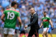 10 August 2019; Mayo manager James Horan before the GAA Football All-Ireland Senior Championship Semi-Final match between Dublin and Mayo at Croke Park in Dublin. Photo by Piaras Ó Mídheach/Sportsfile