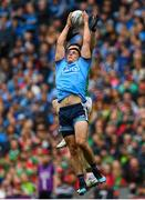 10 August 2019; Brian Howard of Dublin in action against Patrick Durcan of Mayo during the GAA Football All-Ireland Senior Championship Semi-Final match between Dublin and Mayo at Croke Park in Dublin. Photo by Ramsey Cardy/Sportsfile
