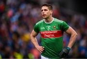 10 August 2019; Lee Keegan of Mayo following the GAA Football All-Ireland Senior Championship Semi-Final match between Dublin and Mayo at Croke Park in Dublin. Photo by Stephen McCarthy/Sportsfile