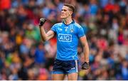 10 August 2019; Brian Fenton of Dublin celebrates following the GAA Football All-Ireland Senior Championship Semi-Final match between Dublin and Mayo at Croke Park in Dublin. Photo by Stephen McCarthy/Sportsfile