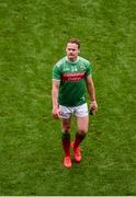 10 August 2019; A dejected Andy Moran of Mayo after the GAA Football All-Ireland Senior Championship Semi-Final match between Dublin and Mayo at Croke Park in Dublin. Photo by Daire Brennan/Sportsfile