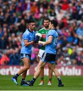 10 August 2019; Diarmuid Connolly of Dublin comes on to replace Niall Scully during the GAA Football All-Ireland Senior Championship Semi-Final match between Dublin and Mayo at Croke Park in Dublin. Photo by Sam Barnes/Sportsfile