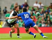 10 August 2019; Kieran Marmion of Ireland in action against Carlo Canna of Italy during the Guinness Summer Series 2019 match between Ireland and Italy at the Aviva Stadium in Dublin. Photo by Seb Daly/Sportsfile