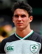 10 August 2019; Joey Carbery of Ireland prior to the Guinness Summer Series 2019 match between Ireland and Italy at the Aviva Stadium in Dublin. Photo by Brendan Moran/Sportsfile