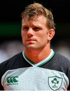 10 August 2019; Jordi Murphy of Ireland prior to the Guinness Summer Series 2019 match between Ireland and Italy at the Aviva Stadium in Dublin. Photo by Brendan Moran/Sportsfile