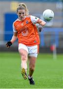 10 August 2019; Kelly Mallon of Armaghin during the TG4 All-Ireland Ladies Football Senior Championship Quarter-Final match between Mayo and Armagh at Glennon Brothers Pearse Park in Longford. Photo by Matt Browne/Sportsfile