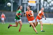 10 August 2019; Clodagh McCambridge of Armaghin during the TG4 All-Ireland Ladies Football Senior Championship Quarter-Final match between Mayo and Armagh at Glennon Brothers Pearse Park in Longford. Photo by Matt Browne/Sportsfile
