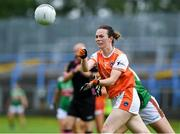 10 August 2019; Sarah Marley of Armaghin during the TG4 All-Ireland Ladies Football Senior Championship Quarter-Final match between Mayo and Armagh at Glennon Brothers Pearse Park in Longford. Photo by Matt Browne/Sportsfile