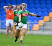 10 August 2019; Natasha Gaughan of Mayo during the TG4 All-Ireland Ladies Football Senior Championship Quarter-Final match between Mayo and Armagh at Glennon Brothers Pearse Park in Longford. Photo by Matt Browne/Sportsfile