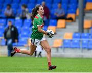 10 August 2019; Niamh Kelly of Mayo during the TG4 All-Ireland Ladies Football Senior Championship Quarter-Final match between Mayo and Armagh at Glennon Brothers Pearse Park in Longford. Photo by Matt Browne/Sportsfile