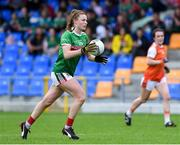 10 August 2019; Aileen Gilroy of Mayo during the TG4 All-Ireland Ladies Football Senior Championship Quarter-Final match between Mayo and Armagh at Glennon Brothers Pearse Park in Longford. Photo by Matt Browne/Sportsfile