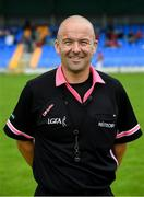 10 August 2019; Referee Jonathan Murphy before the TG4 All-Ireland Ladies Football Senior Championship Quarter-Final match between Mayo and Armagh at Glennon Brothers Pearse Park in Longford. Photo by Matt Browne/Sportsfile