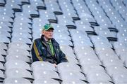 11 August 2019; A Kerry supporter in the Cusack Stand before the GAA Football All-Ireland Senior Championship Semi-Final match between Kerry and Tyrone at Croke Park in Dublin. Photo by Piaras Ó Mídheach/Sportsfile